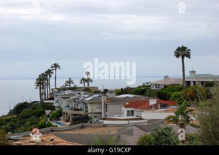 Beach View Houses in Laguna Hills - Stock Photo