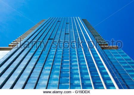 The Four Seasons Hotel and Residences Toronto is a complex 55-story residential condominium tower and 30-story hotel - Stock Photo
