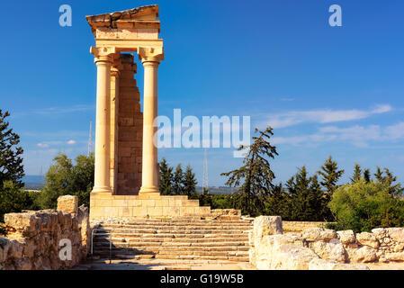 Ruins of Apollo Hylates, Cyprus - Stock Photo