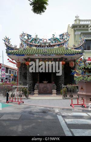 The Leong San Tong Khoo Kongsi clan house / temple in Georgetown Penang Malyasia - Stock Photo