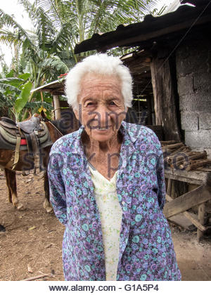 Great grandmother Marguerite, 100 years old, Vinales, Cuba © IndyFoto - Stock Photo