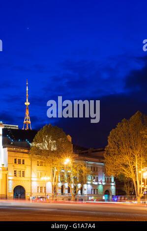 Eurasia, Caucasus region, Georgia, Tbilisi, Freedom Square (Lenin Square), - Stock Photo