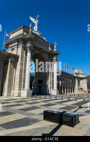 Toronto Ontario Canada Princess Gate Canadian National Exhibition Grounds - Stock Photo