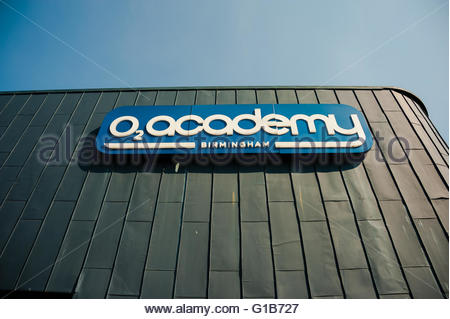 Birmingham, England, UK. 12th May 2016. UK Weather, Sunshine in Birmingham The o2 Academy Birmingham is a music - Stock Photo