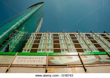 Birmingham, England, UK. 12th May 2016. UK Weather, Sunshine in Birmingham, 10 Holloway Circus (also referred to - Stock Photo