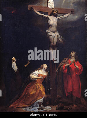 Gabriel Metsu - Crucifixion - Musei Capitolini Roma - Stock Photo