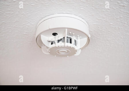 smoke alarm or detector - Stock Photo