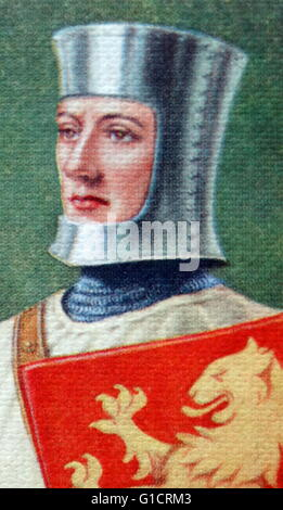 Joan of Arc (Jeanne d'Arc; c. 1412 – 1431). 'The Maid of Orleans' (French: La Pucelle d'Orleans) is considered a - Stock Photo