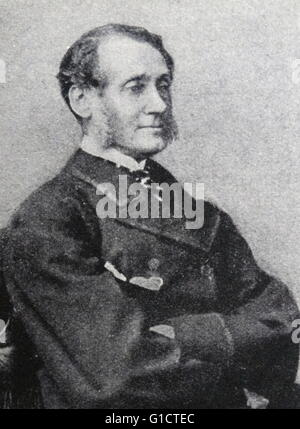 Sir Rutherford Alcock; KCB (1809 - 1897) first British diplomatic representative to live in Japan 1858–64 - Stock Photo