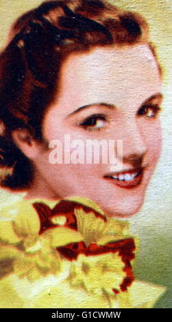 Jane Wyatt (1910-2006) an American actress. Dated 20th Century - Stock Photo