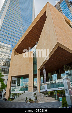 Charlotte, North Carolina - The Mint Museum Uptown. - Stock Photo