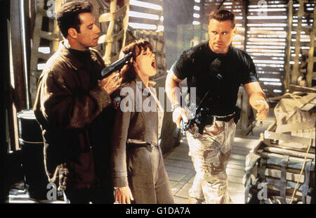 Operation: Broken Arrow / John Travolta / Samantha Mathis / Howie Long, - Stock Photo