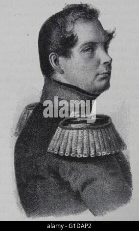 Frederick William IV (German: Friedrich Wilhelm IV.; 15 October 1795 – 2 January 1861), the eldest son and successor - Stock Photo