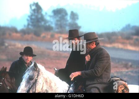 Erbarmungslos / Jaimz Woolvett / Morgan Freeman / Clint Eastwood, - Stock Photo
