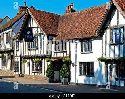 The Swan at Lavenham, hotel and spa, Suffolk, England UK - Stock Photo