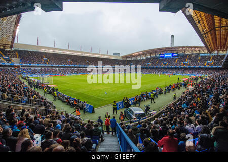 La Coruña, Spain. 14th May, 2016. during the football match of last round of Season 2016/2017 of Spanish league - Stock Photo