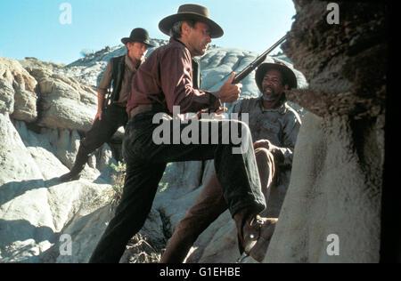 Erbarmungslos / Jaimz Woolvett / Clint Eastwood / Morgan Freeman, - Stock Photo