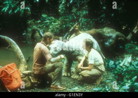 Baby - Das Geheimnis einer verlorenen Legende / William Katt / Sean Young, - Stock Photo