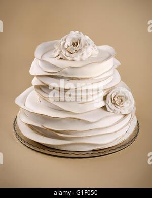 Engagement, wedding, birtday cake - Stock Photo