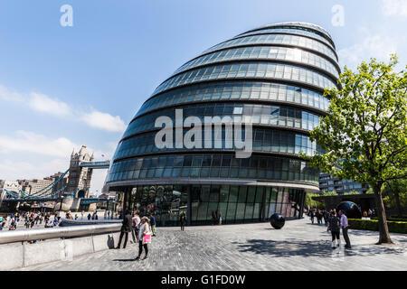 London City Hall (Assembly Building), Borough of Southwark, England, SE1, UK. - Stock Photo