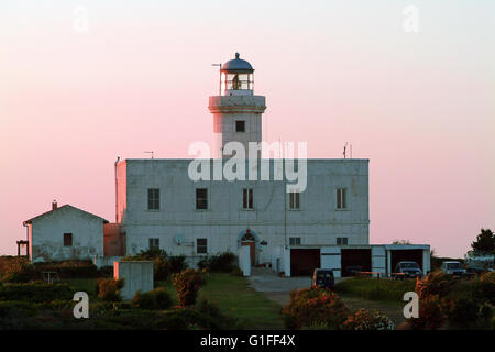 lighthouse Iesolo and Costa Smeralda - Stock Photo