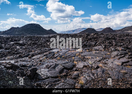 Craters of the Moon National Monument, Idaho. - Stock Photo