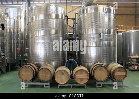 ... Wine Making Vats, Denbies Wine Estate, Dorking, Surrey Hills, North  Downs