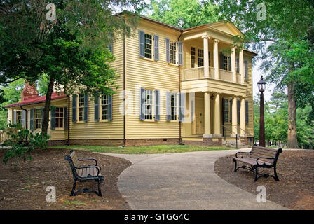 Plantation Mordecai House, Raleigh, North Carolina. - Stock Photo