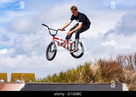 BMX at Sovereign Centre, Eastbourne, East Sussex, England, United Kingdom - Stock Photo