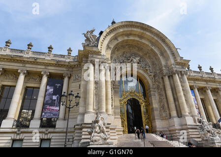 Famous Petit Palais in Paris - Stock Photo