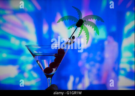 London, UK. 14th May, 2016. Colourful and kitsch cocktail party during the annual song contest. Credit:  Malcolm - Stock Photo