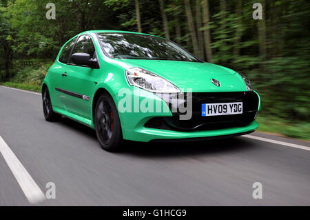 2009 Renault Clio Cup 200 sports car hot hatch - Stock Photo