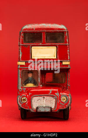 London Routemaster Bus, Dinky Toy - Stock Photo