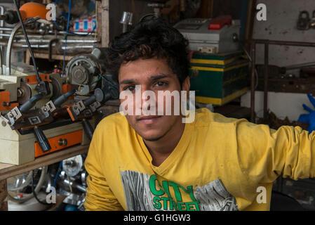 Key Maker, Hyderabad - Stock Photo