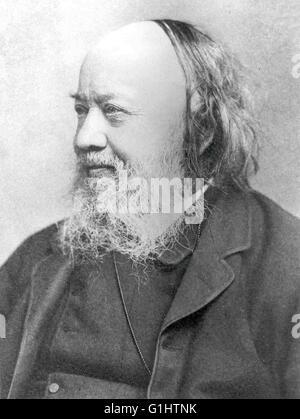 Sir Edwin Chadwick, English social reformer - Stock Photo