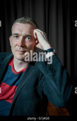 David Mitchell  Two globally acclaimed writers Ð admirers of each otherÕs work Ð met on stage for the first time - Stock Photo