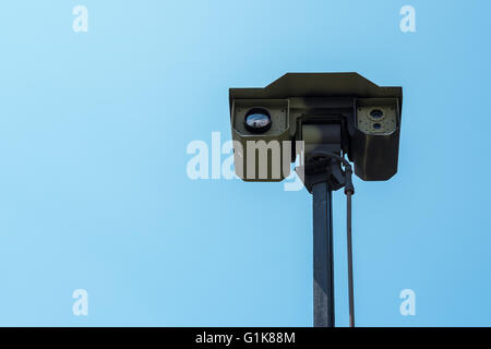 Zrenjanin, SERBIA: May 2016, Detail of Multisensor Intelligent Platform MIP 11 for surveillance, Reconnaissance - Stock Photo