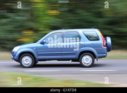 2001 - 2006 Honda CRV SUV car - Stock Photo