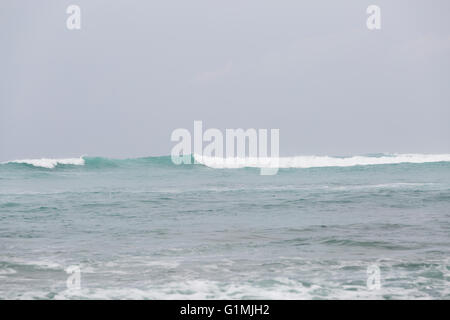 A large wave in Hawaii - Stock Photo
