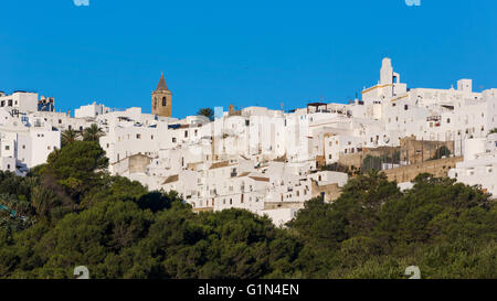 Vejer de la Frontera, Cadiz Province, Andalusia, southern Spain. Typical white Andalusian town. - Stock Photo