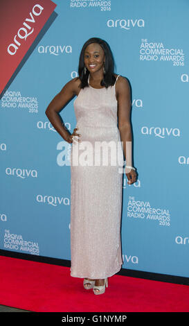 London 17th May 2016, Rebel London attends the Arqiva Commercial Radio Awards,The Roundhouse, Chalk Farm Road, London, - Stock Photo