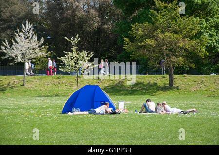 Home Park In Spring Windsor Berkshire England United Kingdom