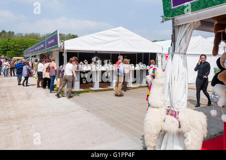 Retail Shopping Stalls At Royal Windsor Horse Show Home Park Berkshire