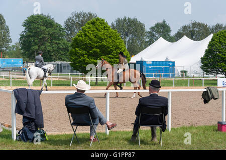 Warm Up And Exercise Ring At Royal Windsor Horse Show Home Park