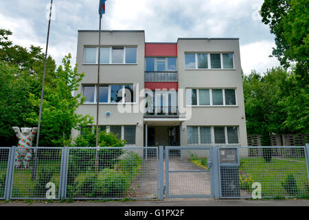 Botschaft Eritrea, Stavangerstrasse, Pankow, Berlin, Deutschland - Stock Photo