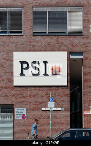 PSI, Dircksenstrasse, Mitte, Berlin, Deutschland - Stock Photo