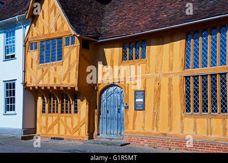 Little Hall, Lavenham, Suffolk, England UK - Stock Photo