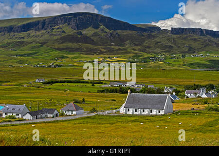 Staffin, Trotternish Peninsula, Isle of Skye, Scotland, United Kingdom - Stock Photo