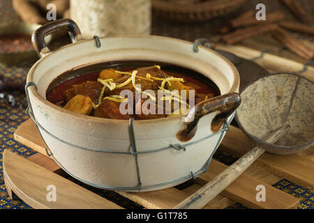 Gaeng Hang Lay. Northern Thai Pork Curry. Thailand Food - Stock Photo
