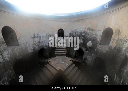 The underground mosque in Taman Sari, Yogyakarta. - Stock Photo
